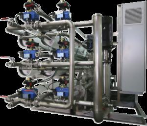 Omvänd osmos, industri.Reverse osmosis, industry, industrial.